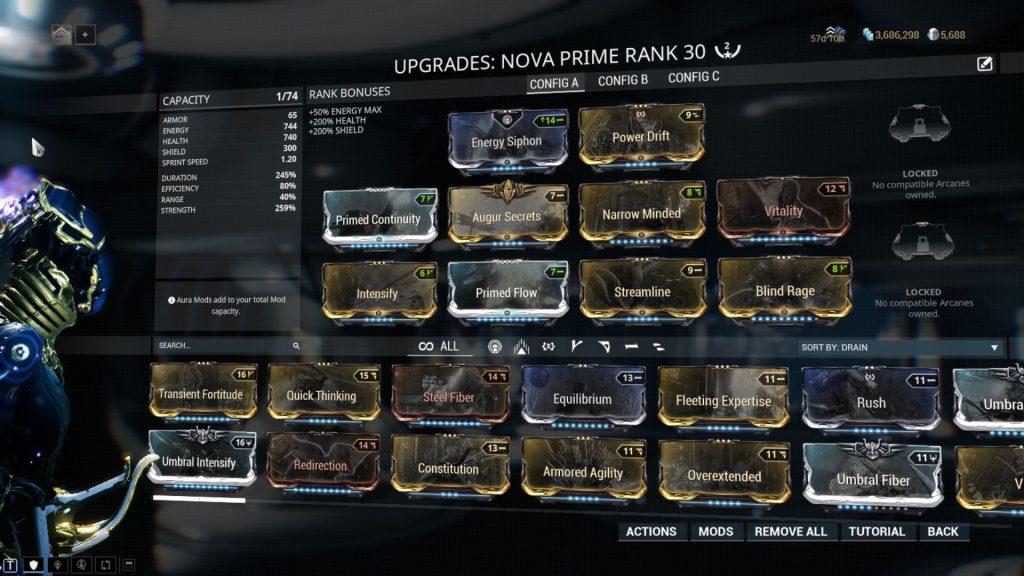 Main Nova Prime Build: Slow Nova a.k.a. Slowa