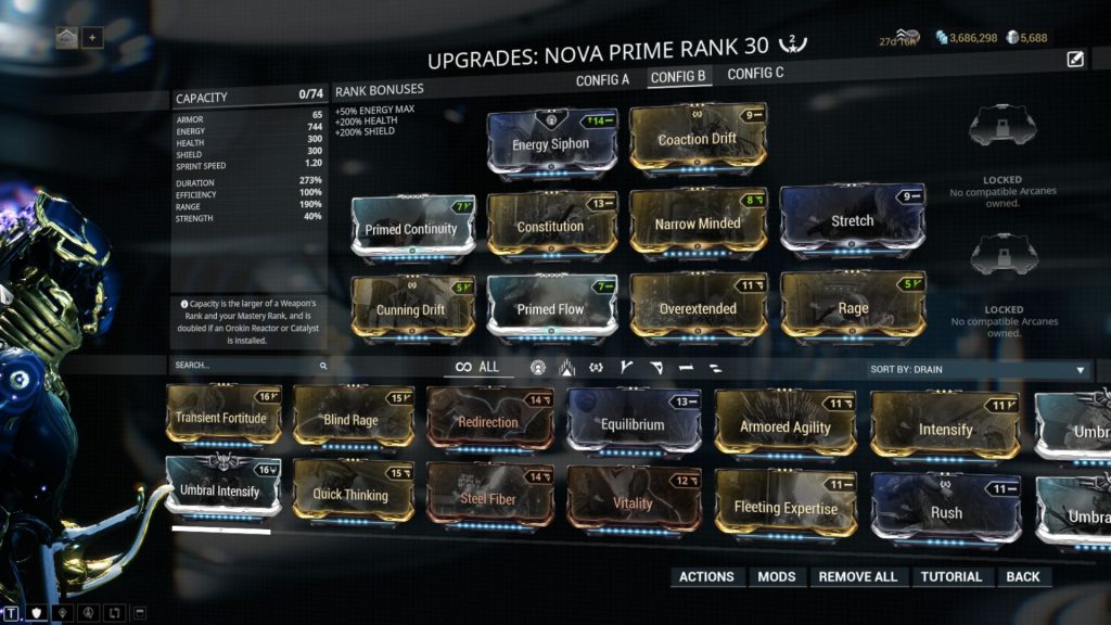 Nova Prime Speed nova a.k.a. Speedva Build