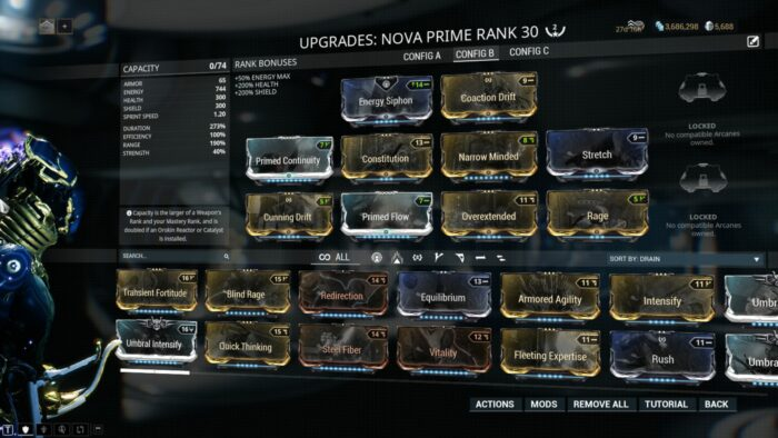 Nova Builds Guide Warframe School Com When an enemy gets in range, one particle. warframe school com