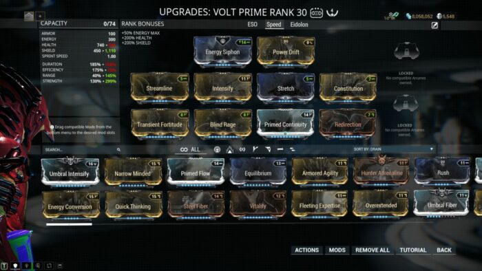 Volt Builds Guide | Warframe-School com