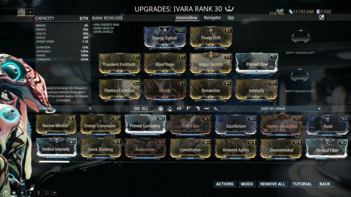 Ivara Builds Guide   Warframe-School com