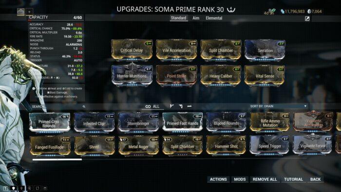 Soma Prime Builds Guide | Warframe-School com