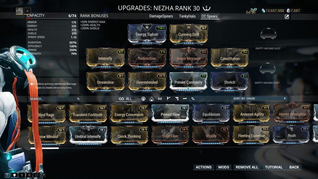 Nezha Crowd Control Spears Build