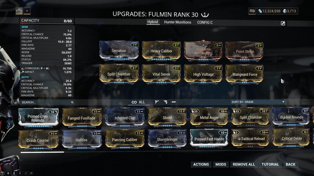 Fulmin Hybrid Build