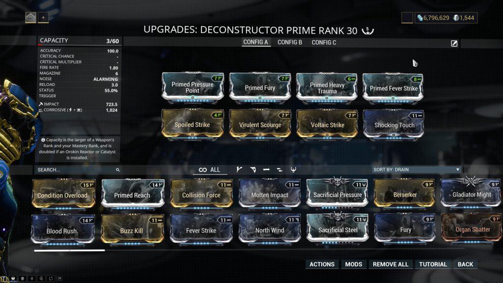 Best Deconstructor Prime
