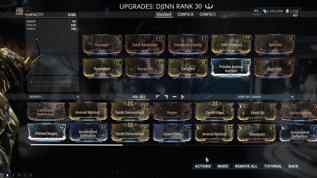 Djinn Standard Build