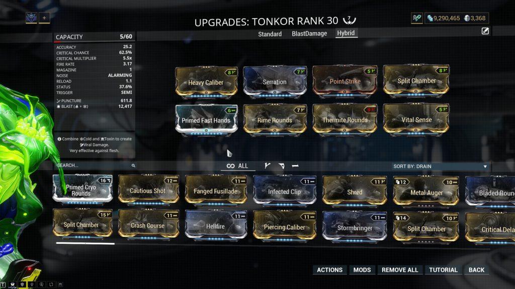 Tonkor Hybrid Build
