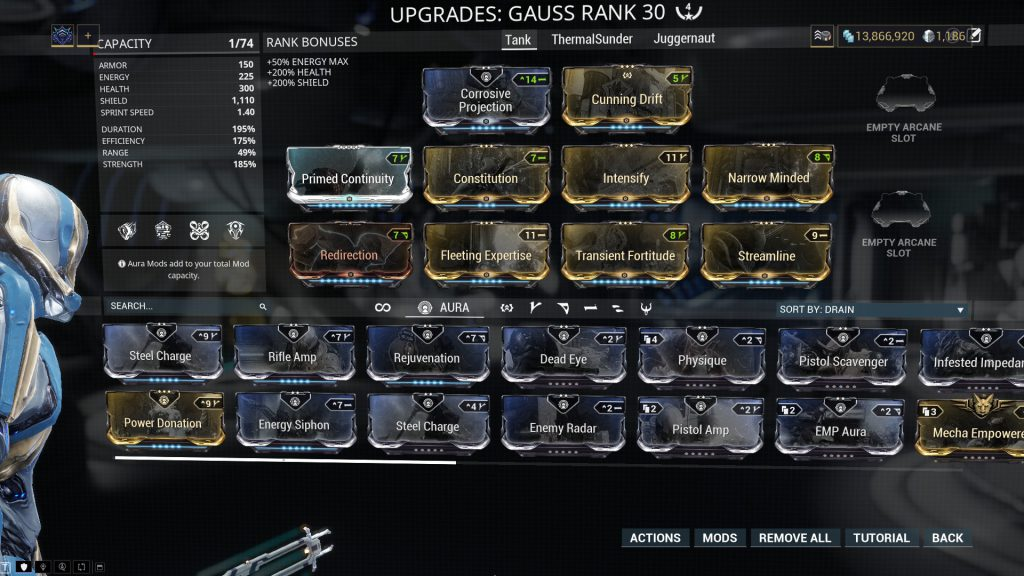 Gauss Tank Build