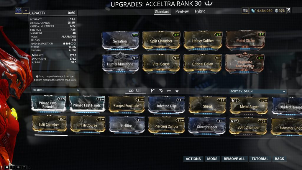 The Standard Acceltra Build