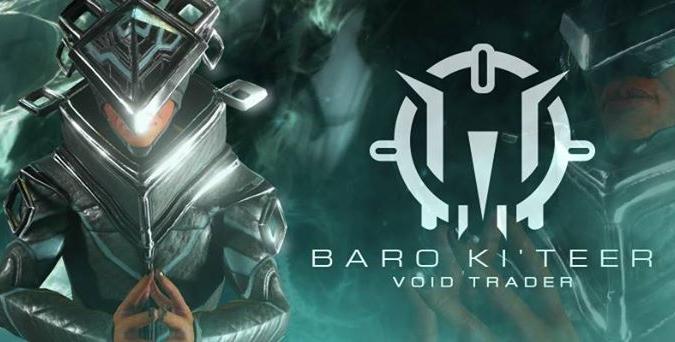 Baro Ki'Teer August 2, 2019 | Warframe-School com