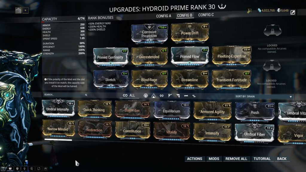 Undertowing Hydroid Build