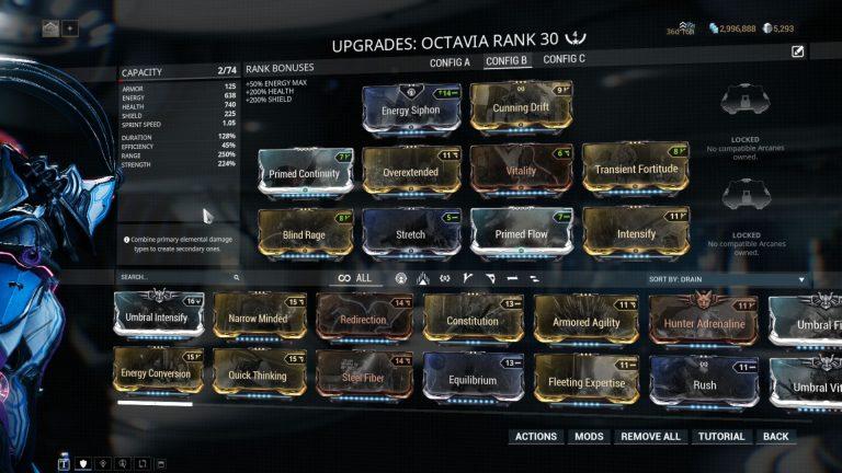 Octavia-Endless-Mission-Build | Warframe School