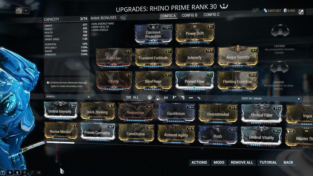 Rhino Prime Full Tank Build