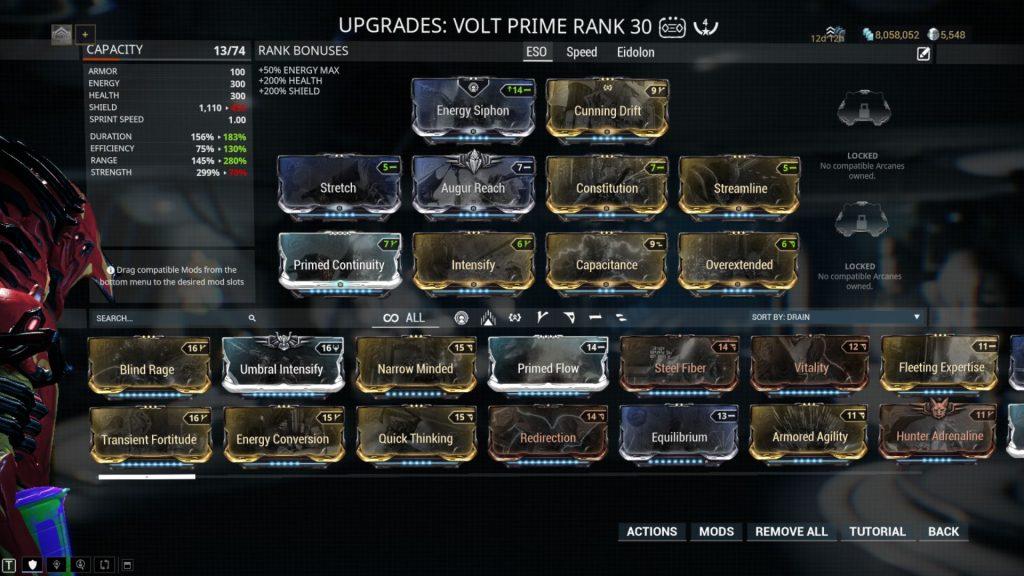 Volt Prime ESO Build