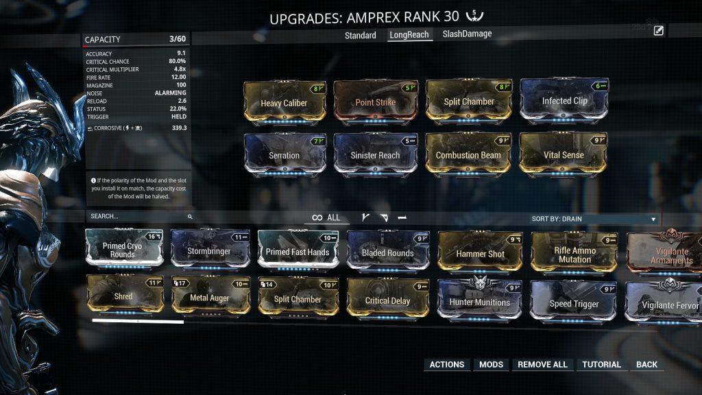 Amprex - Long Range Build