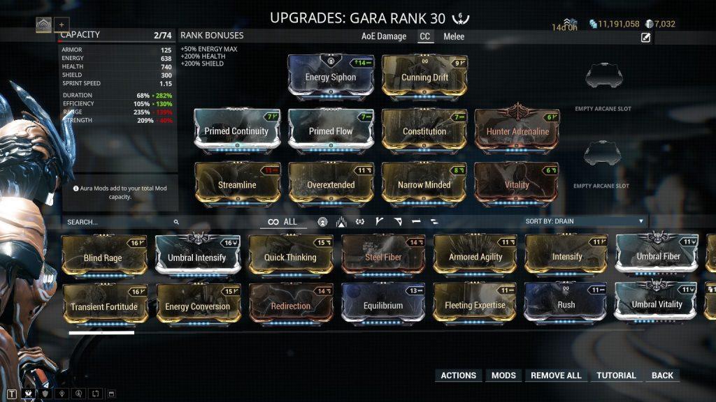 Gara - Crowd Control Build