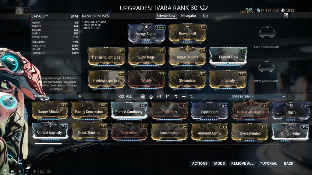 Ivara Prime Invisible Bow Build
