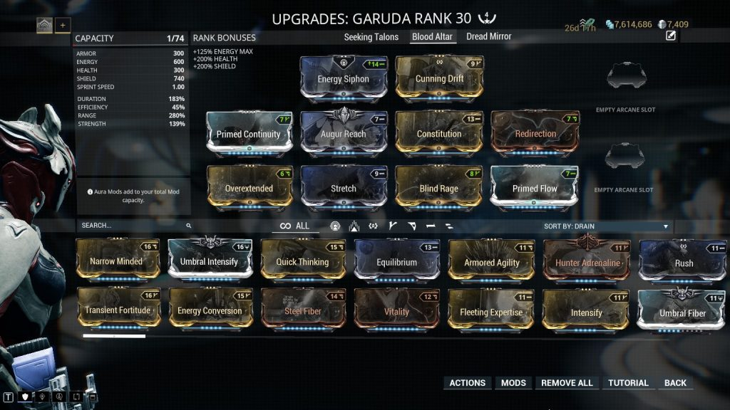 Garuda Blood Altar Build