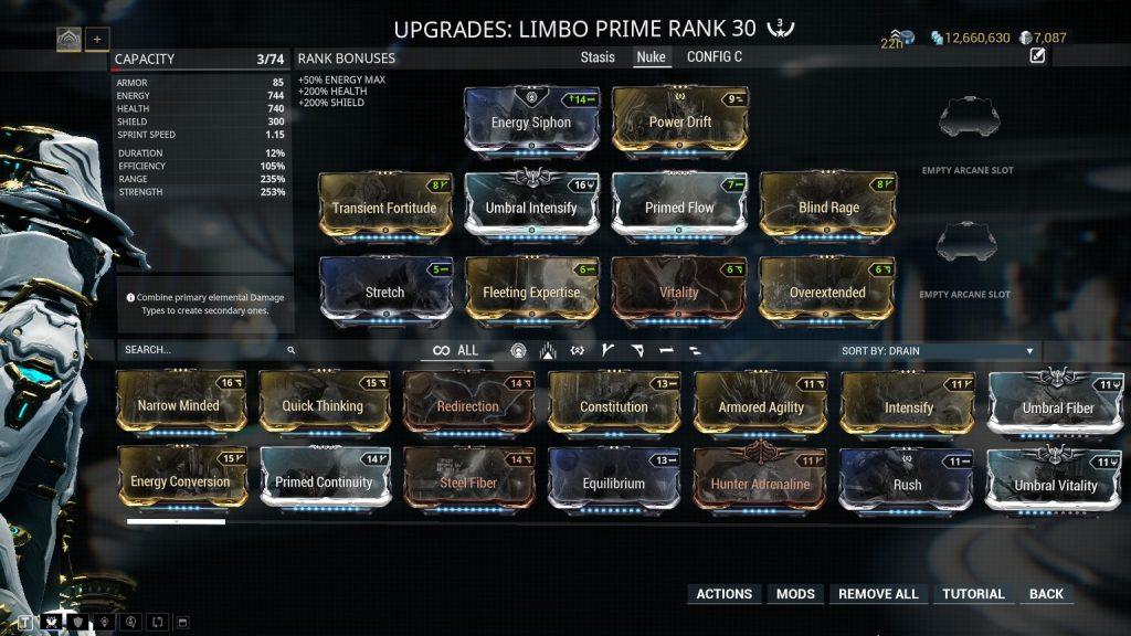 Limbo Prime Nuke Build