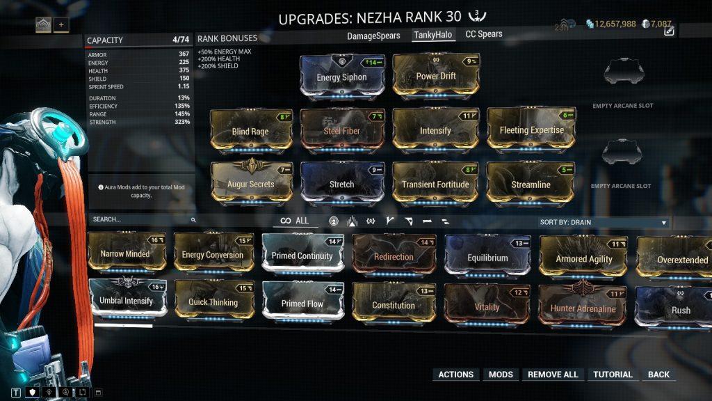 Tanky Halo Nezha Build