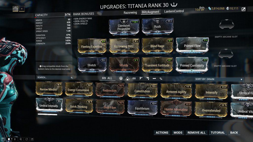 Titania Prime Razorwing Blitz Build