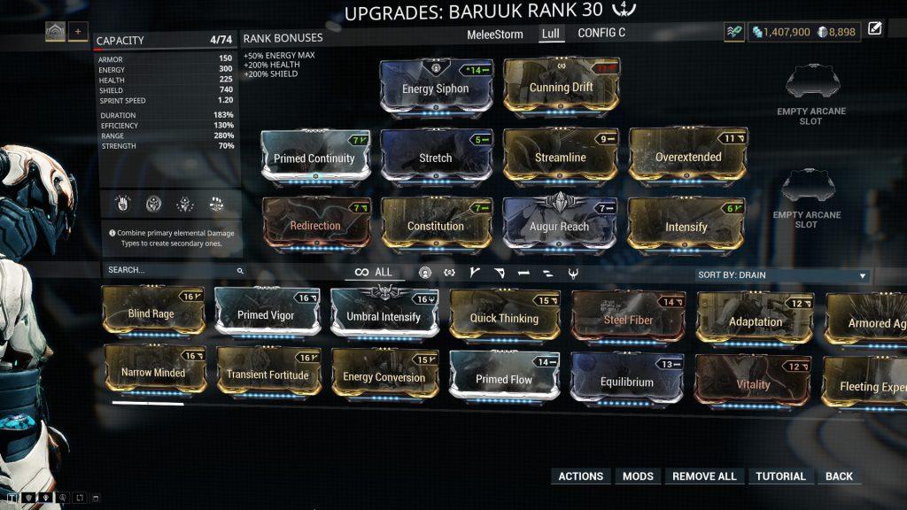 The Lull Baruuk Build