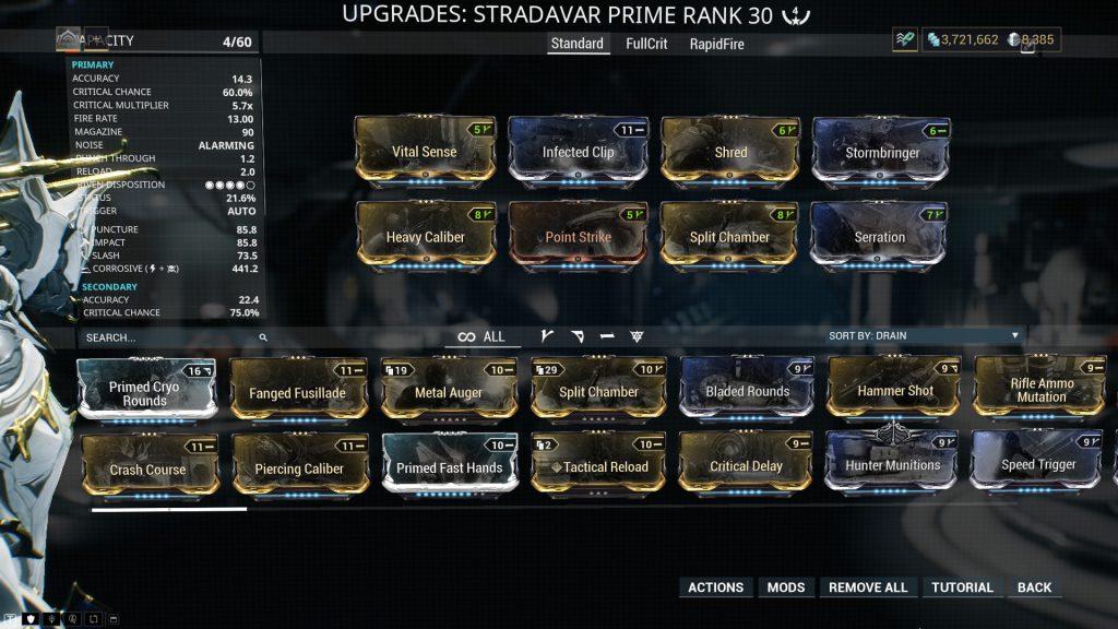 Stradavar Prime - Standard Build
