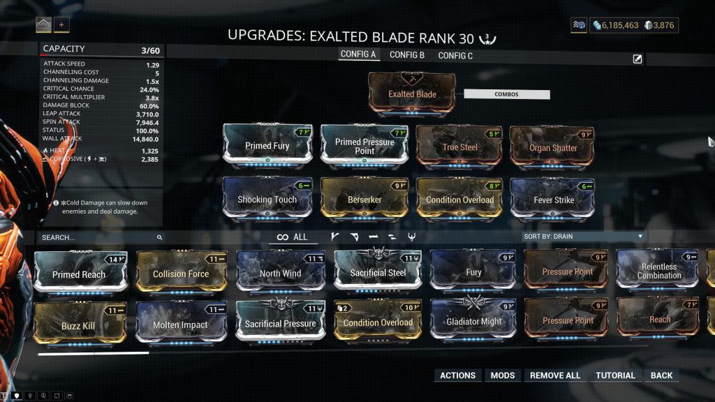 Exalted Blade Build