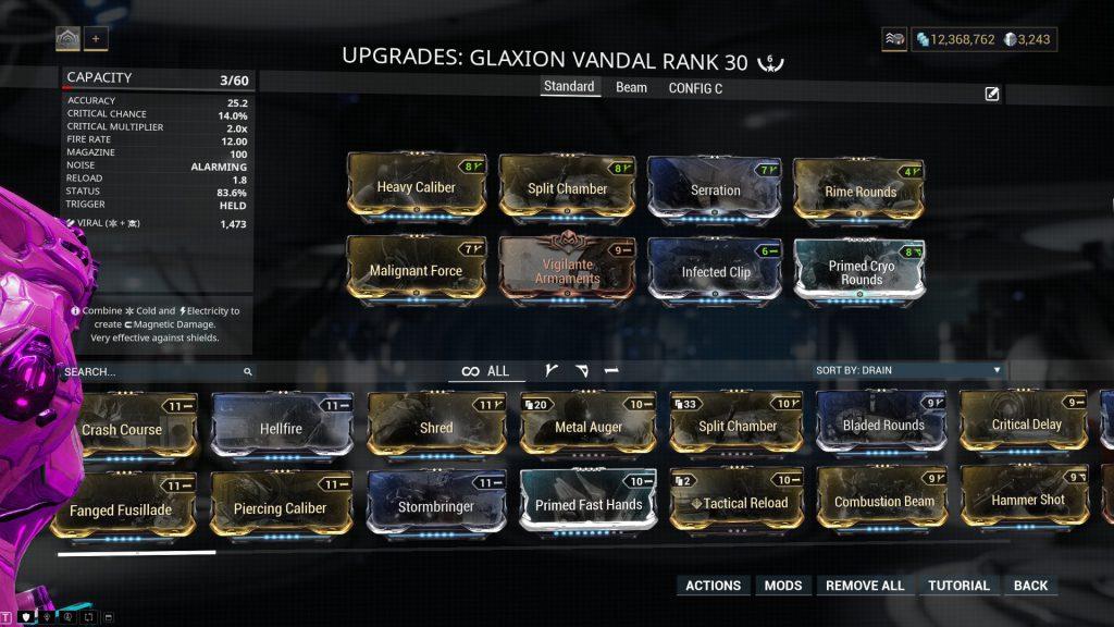 Glaxion Vandal Standard Build
