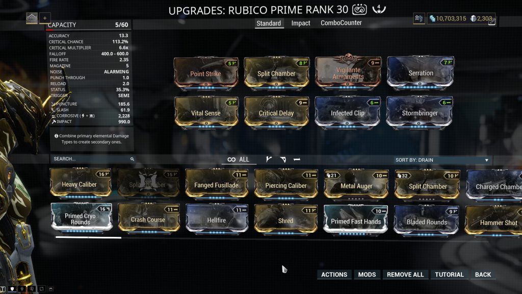 The Standard Rubico Prime Build
