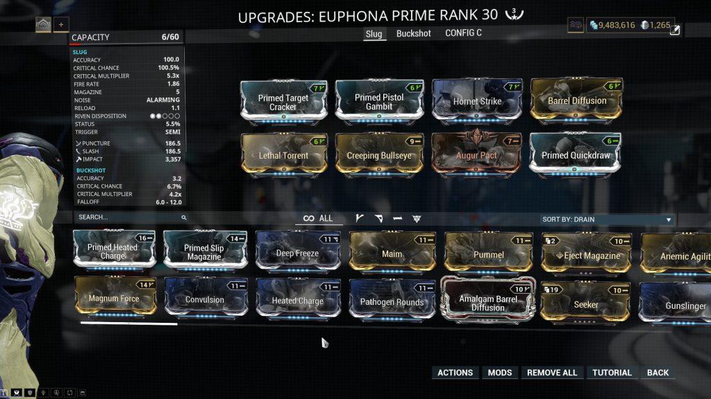 Slug Mode Euphona Prime Build