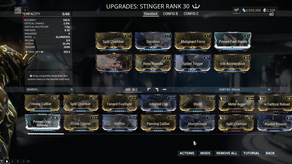The Best Stinger Build