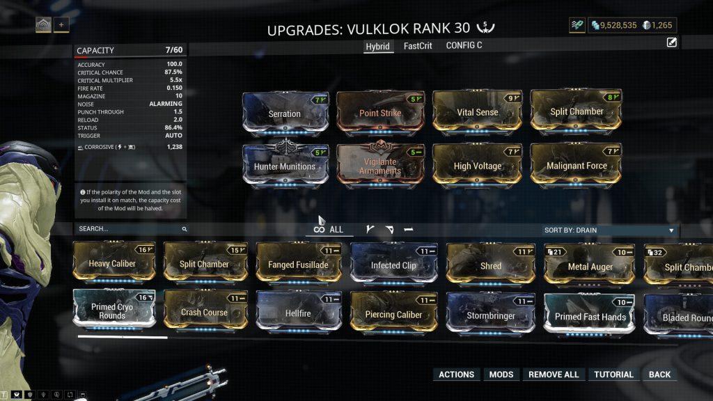 Hybrid Vulklok Build