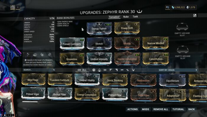 Zephyr Builds Guide Warframe School Com This is useful for clearing low level defense missions quickly. zephyr builds guide warframe school com