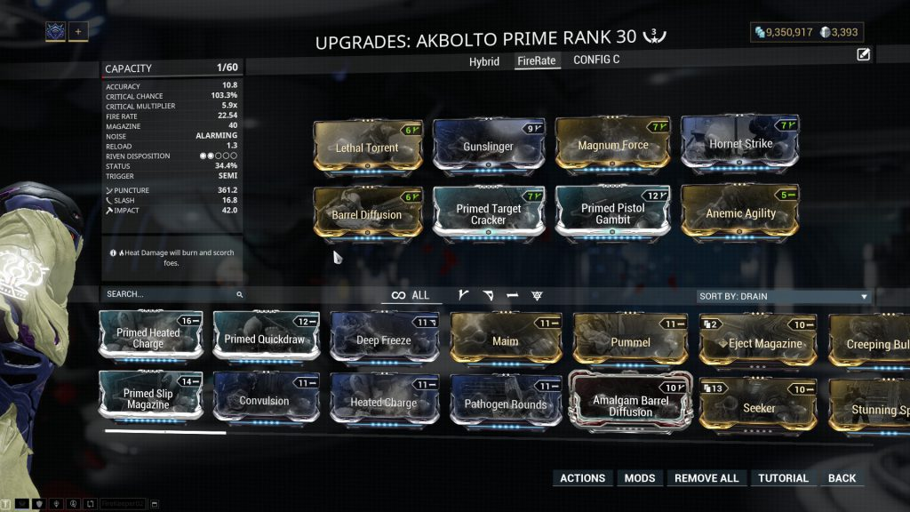 Akbolto Prime - The Fire Rate Build