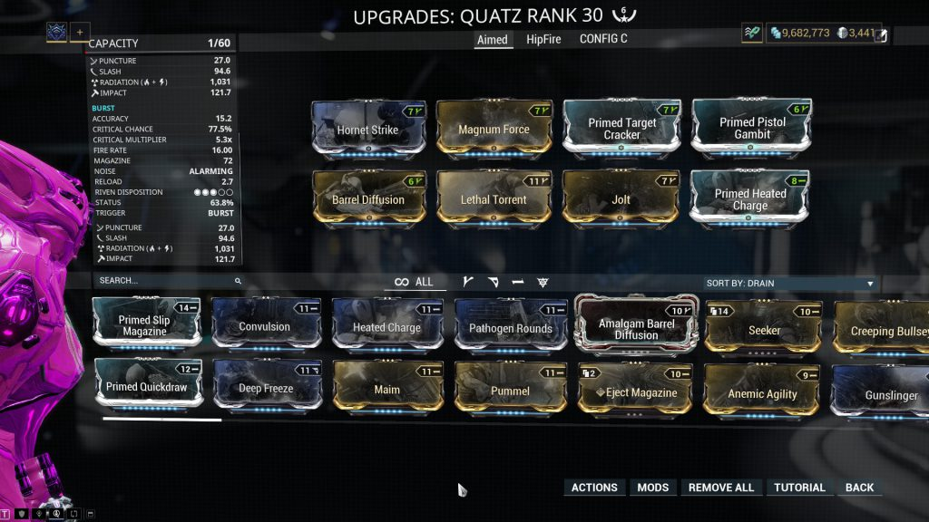 Burst Mode Quatz Build