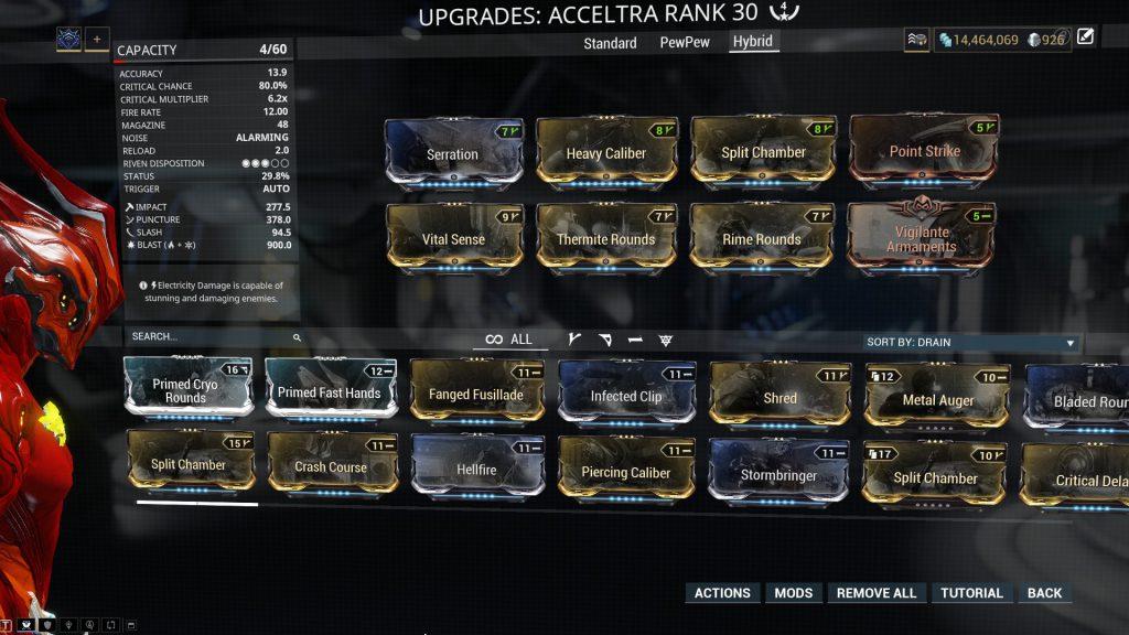 Hybrid Acceltra Build