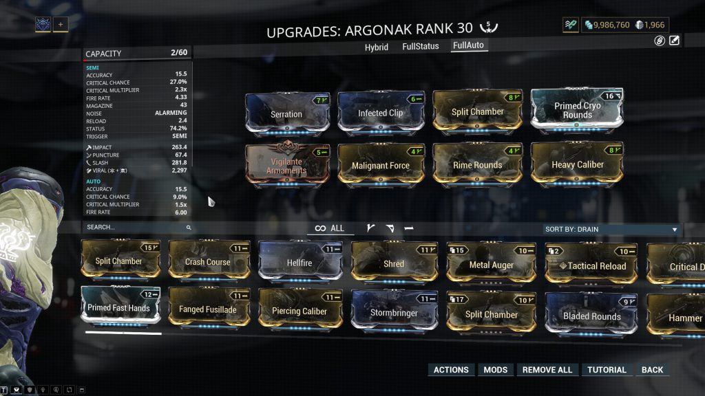 Automatic Mode Argonak Build