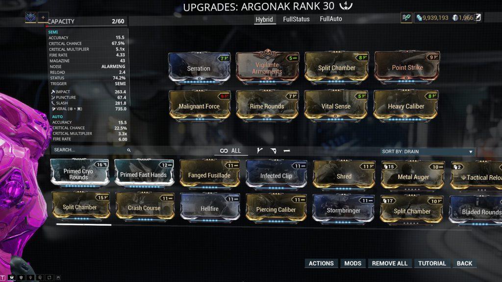 Semi Auto Argonak Build