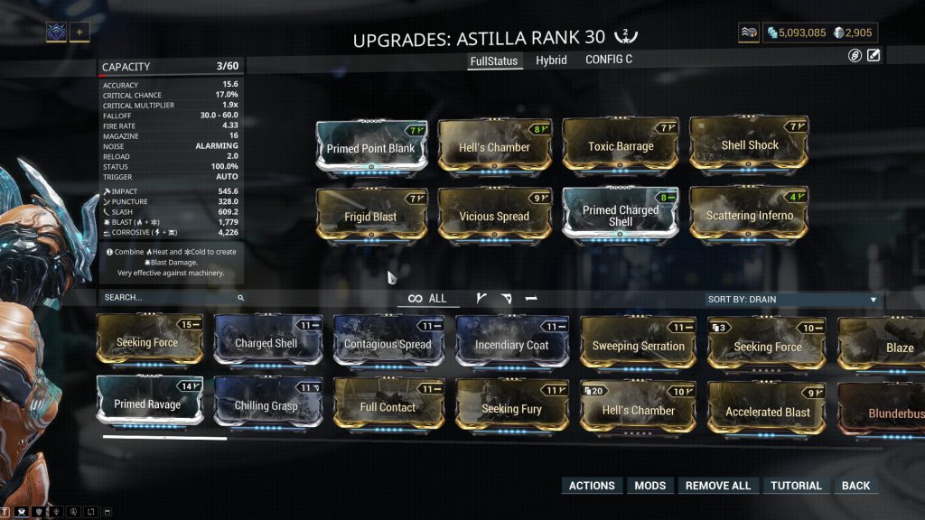Astilla The Full Status Chance Build