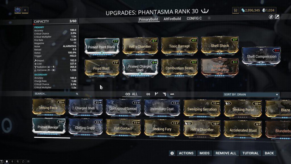 Primary Fire Mode Phantasma Build
