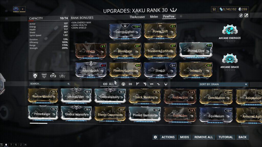 Nuke Xaku Build