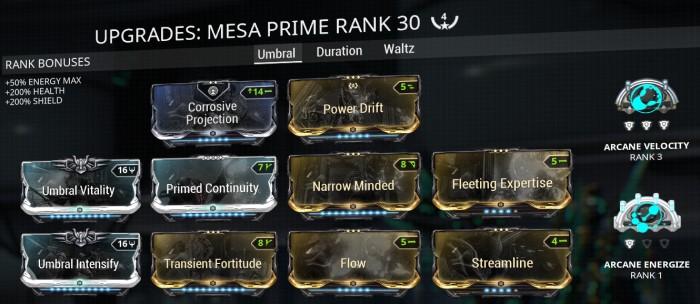 Mesa prime build no2