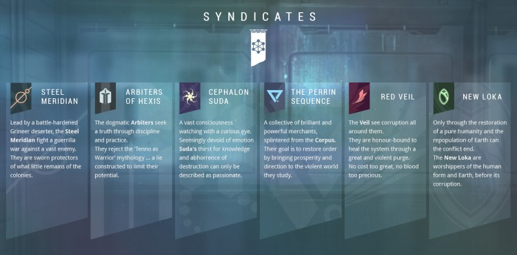 How To Get Platinum in Warframe - Syndicates