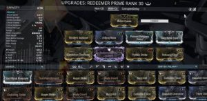 Redeemer Prime Build - With Condition Overload
