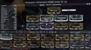 Redeemer Prime Build - Without Condition Overload