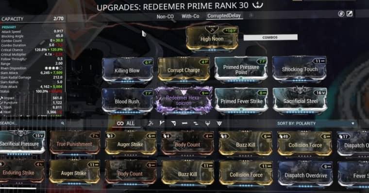 Redeemer Prime - Tridolon Build