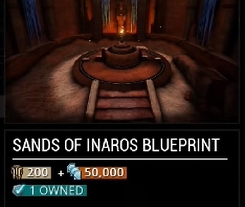 Sands of Inaros Blueprint