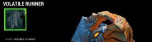 Sands of Inaros Vessel's Challenge - Volatile Runner