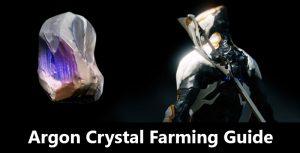 Warframe Argon Crystal Farming Guide